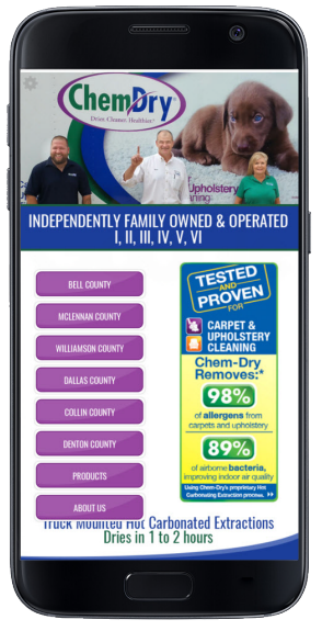 Download Our App Heart Of Texas Chem Dry Waco Tx